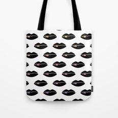 Pop At Lips Tote Bag