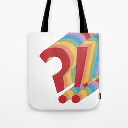 rainbow?! Tote Bag