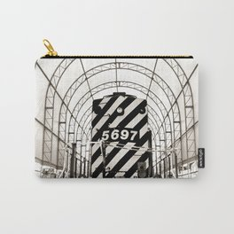 Retro Railway Carry-All Pouch