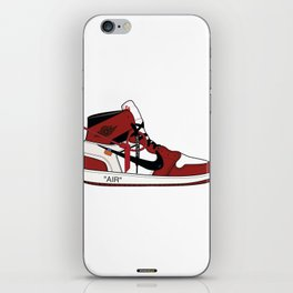 Jordan I x Off White iPhone Skin