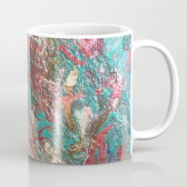 Copper and Turquoise Coffee Mug
