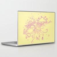 doodle Laptop & iPad Skins featuring doodle by Duru Eksioglu