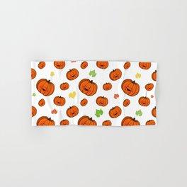 The happy pumpkin Hand & Bath Towel