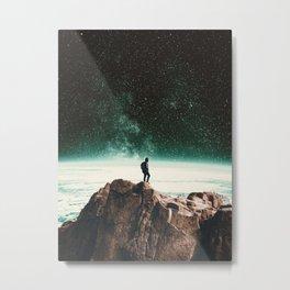 Intergalactic Adventure Awaits Metal Print