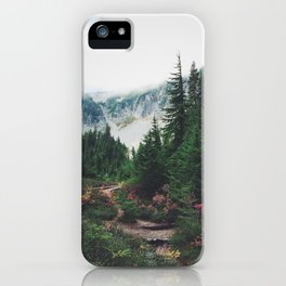 Mountain Trails iPhone Case
