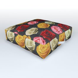 Love the Rose Outdoor Floor Cushion