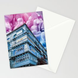 Fireworks in Valletta Stationery Cards