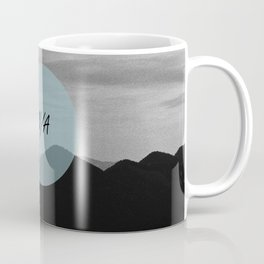 Fine mountains lines - #N/A Coffee Mug