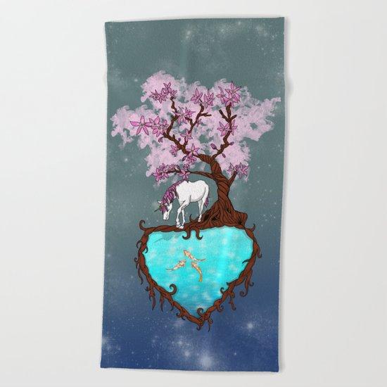 Last Unicorn Beach Towel
