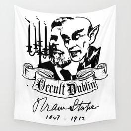 OCCULT DUBLIN series: Bram Stoker Wall Tapestry