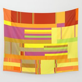 Scandinavian Moon (Fruit Colours) Wall Tapestry