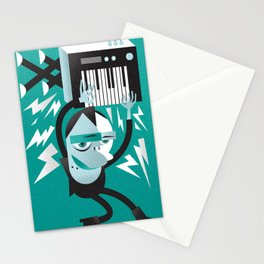 """Vamp"" Monster Rock Stationery Cards"