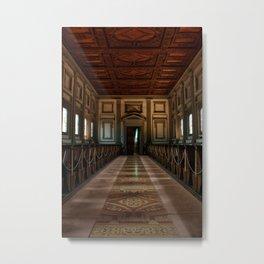 San Lorenzo Library Metal Print