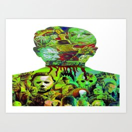 Have Alittle Horror In You? Art Print