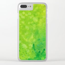 Abstract No. 97 Clear iPhone Case
