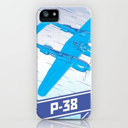 P-38 Lightning iPhone Case