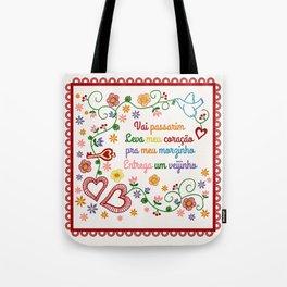 Valentines Gift or Lenço dos Namorados Tote Bag