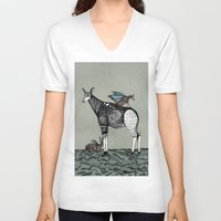 starry night V-neck T-shirts featuring Starry Night by Kianna Kilgren