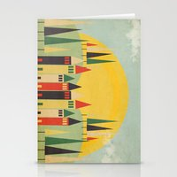 rushmore Stationery Cards featuring Rushmore by Kayla Cole