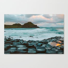 Giant's Causeway at Sunrise Canvas Print