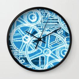 Geared Up ( Big Blue) Wall Clock