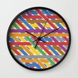 Abstrac Love Wall Clock