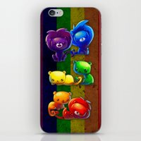 pride iPhone & iPod Skins featuring Pride by TsaoShin