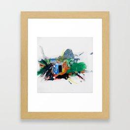 Accident three Framed Art Print