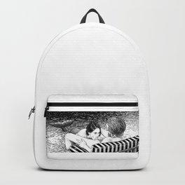 asc 793 - Le rivage de velour (Dive in a velvet slide) Backpack