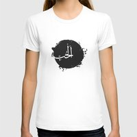 arabic T-shirts featuring LOVE Arabic by elyinspira