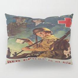 Vintage poster - War Fund Pillow Sham