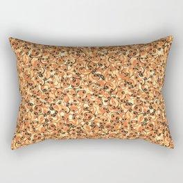 Mac & Cheese Pattern Rectangular Pillow