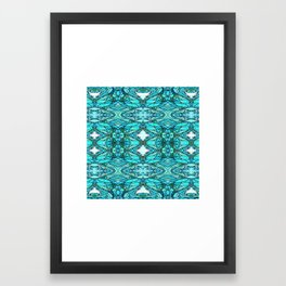 Funky Blues Framed Art Print