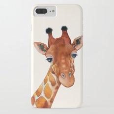 Giraffe Watercolor Slim Case iPhone 7 Plus