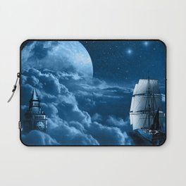 Second Star to the Right Laptop Sleeve