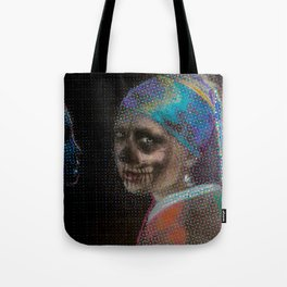 The Girl With the Pearl Earring Tote Bag