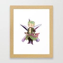 Zoro Sticker Framed Art Print