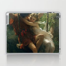 Springtime by Pierre-Auguste Cot 1873, French Laptop & iPad Skin