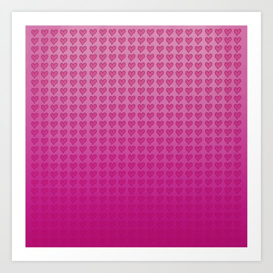 I Heart You. Art Print