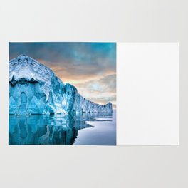 Alaska Glacier Rug