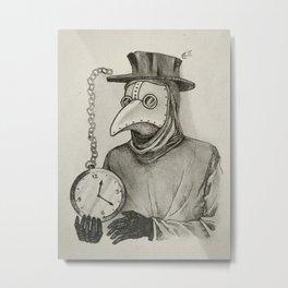 Doctor Plague Metal Print