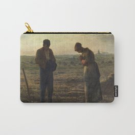 The Angelus by Jean Francois Millet Carry-All Pouch