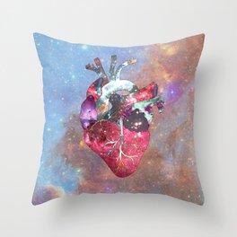 Superstar Heart Throw Pillow