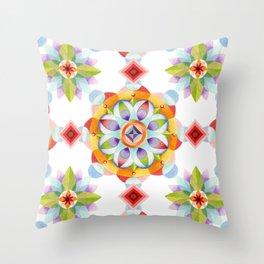 Beaux Arts Mandala Throw Pillow