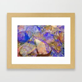Crystal Magic Framed Art Print