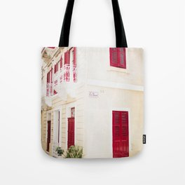 Houses of Valletta Tote Bag