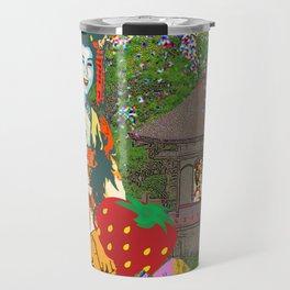 Strawberry Geisha  Travel Mug