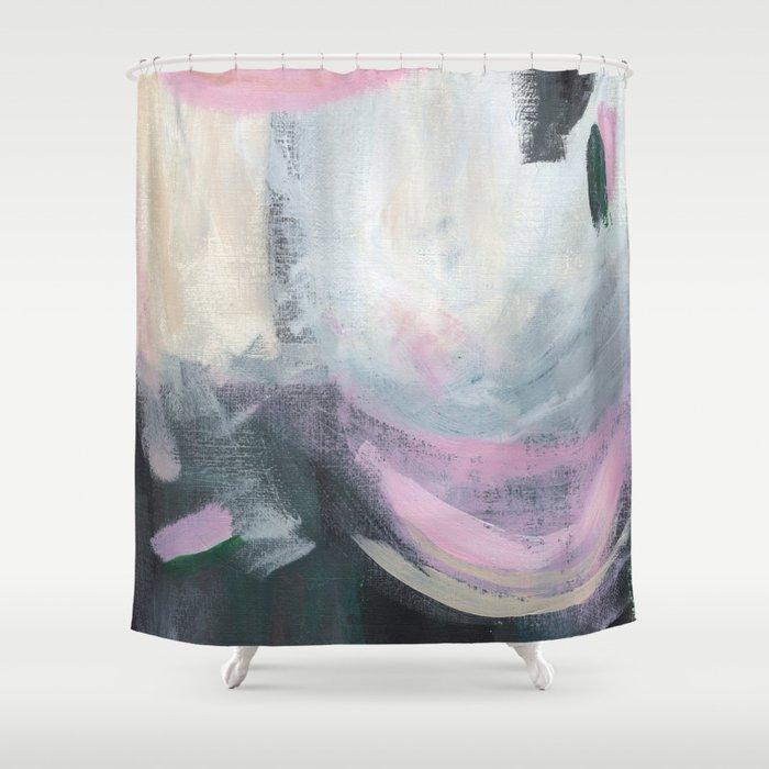 Bubblegum Sky Shower Curtain
