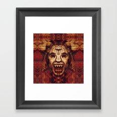 Ahriman Framed Art Print