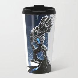 Fantastic Blue Stone Man Travel Mug